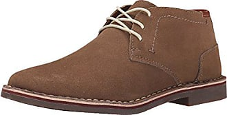 Kenneth Cole Reaction Mens Desert Sun SU Chukka Boot, Taupe Suede, 11.5 M US