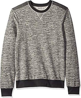 2(x)ist Mens Pullover Crewneck Sweatshirt Sweater, Light Heather Grey, Small