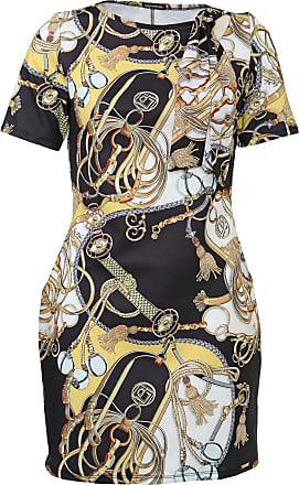 Lança Perfume Vestido Lança Perfume Curto Amarração Branco/Preto