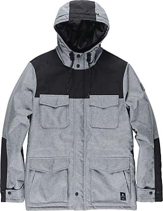Element Mens Hemlock Wolfeboro Jacket Insulated, Grey Heather, Large