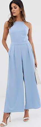 Y.A.S Cadeau - Hosenrock-Jumpsuit-Blau