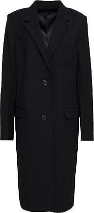 Helmut Lang Helmut Lang Woman Wool-blend Twill Coat Black Size S
