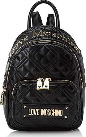 Love Moschino Jc4009pp1a Womens Backpack Handbag, Black (Nero), 10x21x26 centimeters (W x H x L)