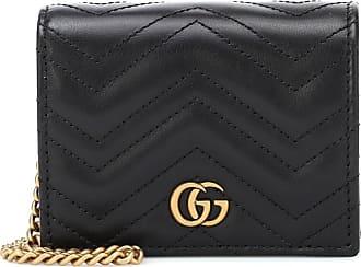 Gucci Portemonnaie GG Marmont aus Leder
