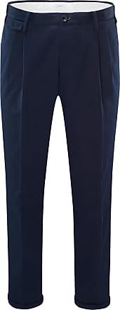 Pantaloni Torino Baumwollhose Style 02 navy bei BRAUN Hamburg