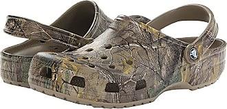 Crocs Classic Realtree Xtra Clog (Khaki) Mens Shoes