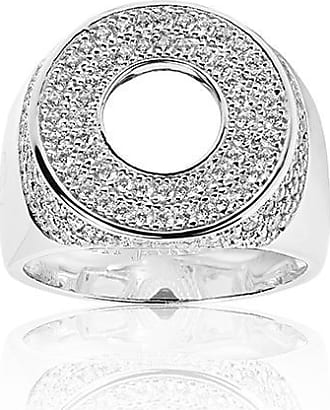 Sif Jakobs Jewellery Signet Ring Novello Altro with white zirconia