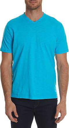 Robert Graham Mens Albie Tee Shirt In White Size: 2XL by Robert Graham