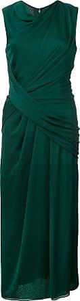 Jason Wu Vestido com detalhe de franzido - Verde
