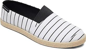 Quiksilver Espadrilled - Slip-On Shoes - Men - EU 41 - White