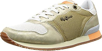 39b3b064ef66a3 Pepe Jeans London London Damen GABLE GOLD Sneakers 099GOLD)