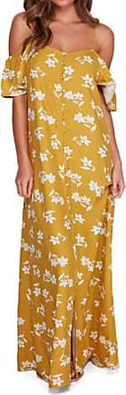 Billabong Shoulder Sway - Dress - Women - XS - Yellow