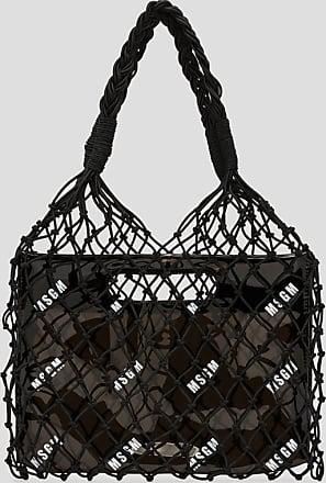 Msgm mesh bag with logo
