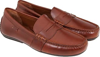 Polo Ralph Lauren Mens Loafer Flats Brown brown Brown Size: 10 UK