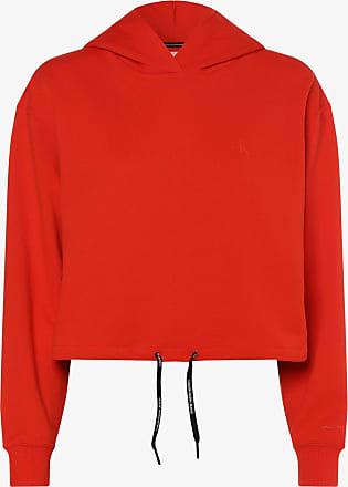 Calvin Klein Jeans Damen Sweatshirt rot