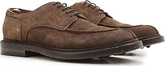 Officine Creative Lace Up Shoes for Men Oxfords, Derbies and Brogues On Sale in Outlet, Brown, Suede leather, 2017, 9.5