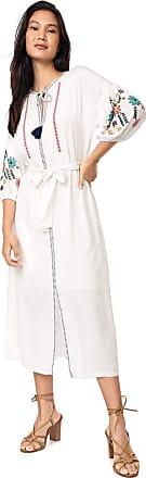 Lez a Lez Vestido Lez a Lez Midi Frida Off-white