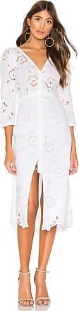 Rebecca Taylor Terri Embroidered Dress in White