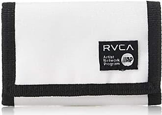 Rvca Mens ANP Trifold Wallet, white, One Size