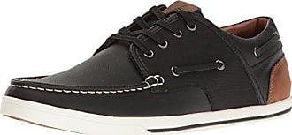 Aldo Mens Greeney-r Boat Shoe, Black Leather, 7 D US