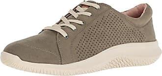 Dr. Scholls Womens Fresh One Sneaker, Burnt Olive Green Microfiber, 7 M US