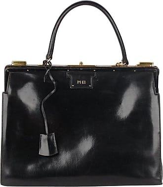 2635b06455e Hermès Hermes Vintage Rare Black Leather Sac 404 Top Handle Bag
