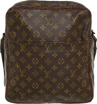 af3077b881cd6f Louis Vuitton gebraucht - Umhängetasche aus Canvas in Braun - Damen - Canvas