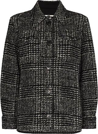 Isabel Marant Gastoni check jacket - Preto