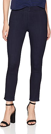 NYDJ Womens Pull on Skinny Ankle in Sure Stretch Denim - Blue - 10 27