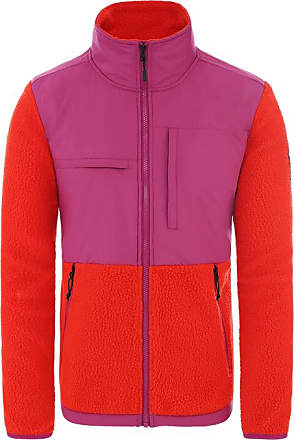 The North Face The north face Denali fleece jacket FIERY RED/PURPLE XS