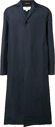 OAMC oversized single-breasted coat - Blue