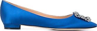 Manolo Blahnik Ballerine Hangisi - Di colore blu