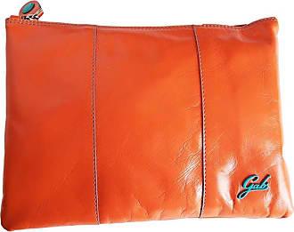 Gabs GABS Beyonce Pegaso Medium Leather shoulder bag made in Italy 28x20 cm G040T2 P0263 - Orange