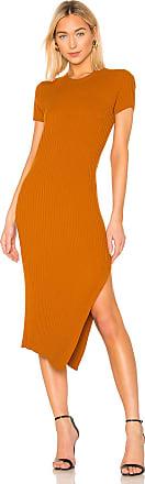 A.L.C. Minetta Dress in Burnt Orange