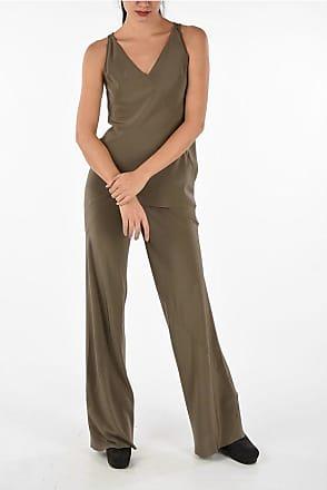 Rick Owens silk wide leg pants size 40