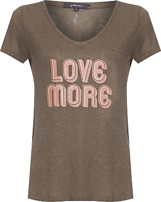 J. Chermann Camiseta Love More - Verde