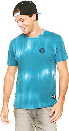Zoo York Camiseta Zoo York Raglan Tie Dye Azul