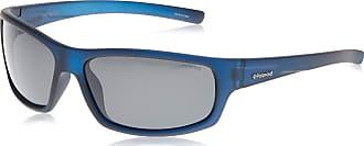 Polaroid mens P8411 Rectangular Sunglasses