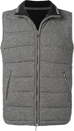 N.Peal quilted zipped gilet - Grey