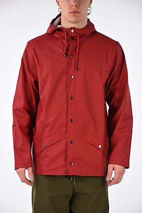 Rains Scarlet Hooded Raincoat Jacket size L/XL