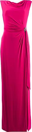 Lauren Ralph Lauren draped evening dress - Pink
