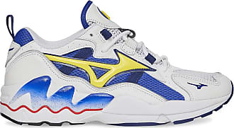 Mizuno Mizuno Mizuno wave rider og WHITE/BLUE/YELLOW 39
