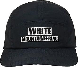 White Mountaineering Logo Baseball Cap Mens Black