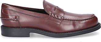 Tod's Loafers M80B0B calfskin brown