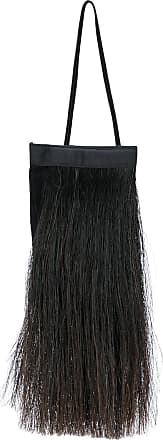 3ff54419a3ec Helmut Lang fur fringe trimmed mini tote - Black. In high demand
