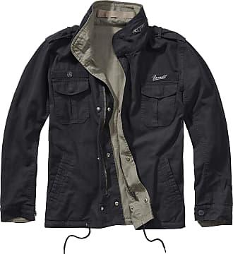 Brandit Twister Men Between-Seasons Jacket Black-Olive S, 100% Cotton