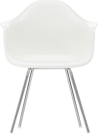 Vitra DAX Plastic Armchair Chrome Base