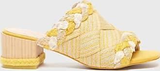 Kelsi Dagger Scarlet WomenS Sandals Yellow Woven WomenS Sandal 8.5