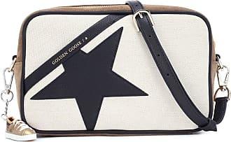 Golden Goose Star canvas shoulder bag