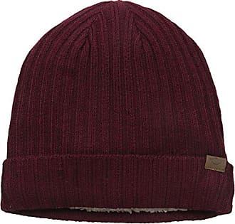 Dockers Mens Rib-Knit Beanie, Burgundy, One Size